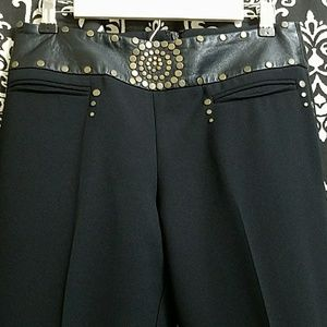 Alberto Makali Designer Black Pants